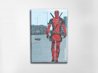 Deadpool Art Magnet