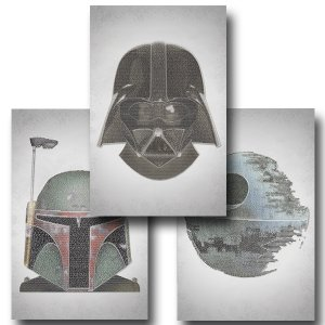 Star Wars Three Set