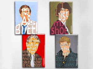 Supernatural Art Magnet Set