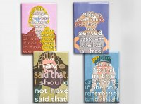Harry Potter Characters Art Magnet Set