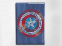 Captain America Art Magnet