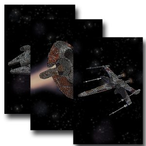 Star Wars Ships Three Set