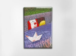 IT Pennywise Art Magnet
