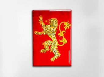 GoT Lannister Art Magnet