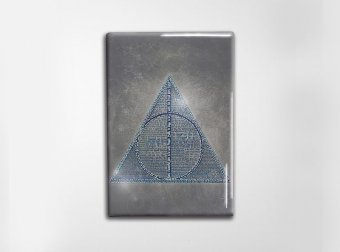 Deathly Hallows Part One Art Magnet