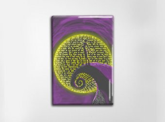 Jack Skellington Art Magnet