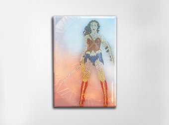 Wonder Woman Art Magnet