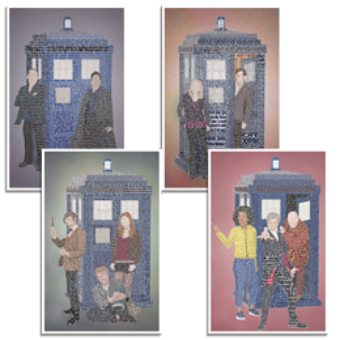 Doctor Who Four Set